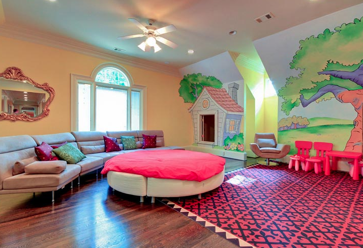 Colorful Kids Room Paint