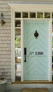 Refreshing Front Doors with Paint
