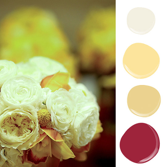 Paint Palettes Inspired by Flowers
