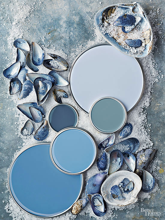 Beach Inspired Paint Palettes