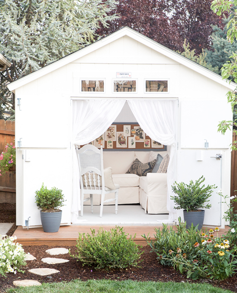 Paint Picks for Stylish Sheds