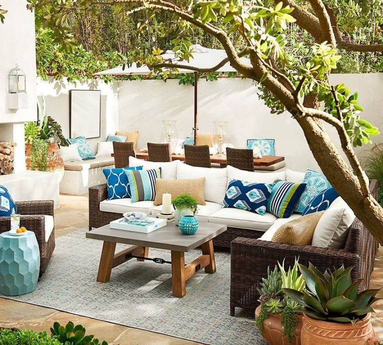 Upscale Outdoor Living Trends
