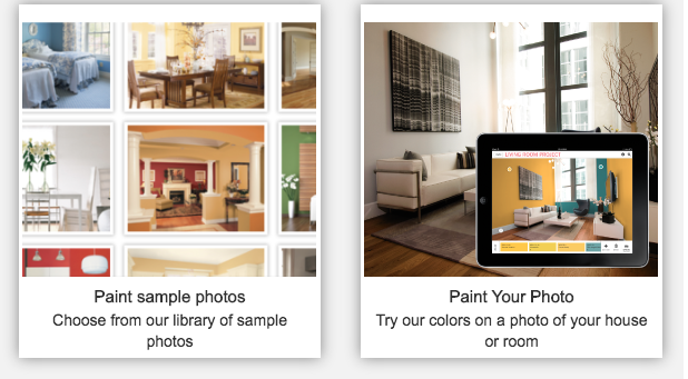 Helpful paint color apps and tools castle painting blog for Apps for painting rooms