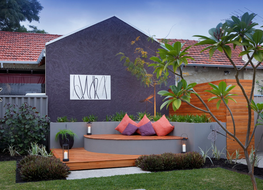 eclectic outdoor spaces