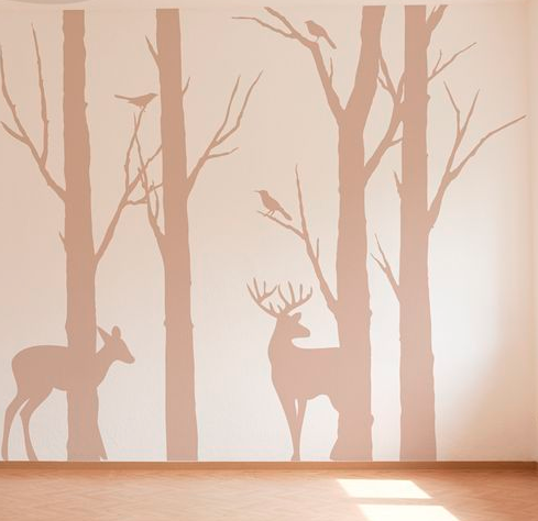 Painted Baby Room Murals